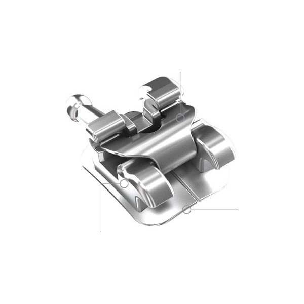 Metal Self-Ligating Bracket U/L Roth 20pcs