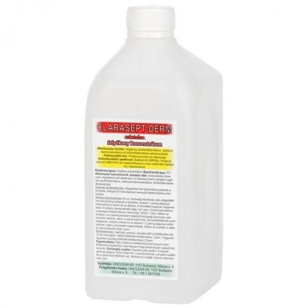 CLARASEPT-DERM színtelen kéz- és bőrfertőtlenítő szer 1L