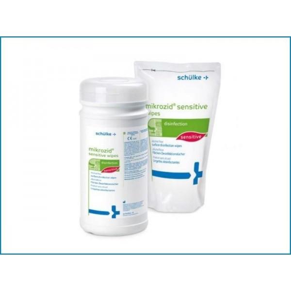 Mikrozid Sensitive utántöltő 200db+ doboz