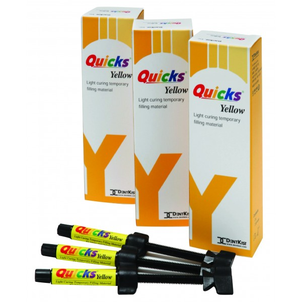 Quicks® Temporary Filling Material [Blue/Yellow]