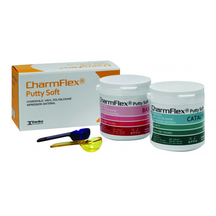 CharmFlex® Putty Addition Silicone Impression Material [2x280 ml]